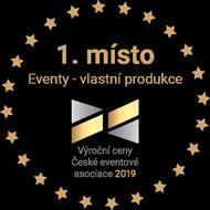 1. místo Eventy - vlastní produkce